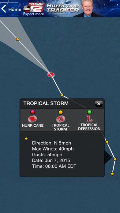 KSAT12 Hurricane Tracker for Windows