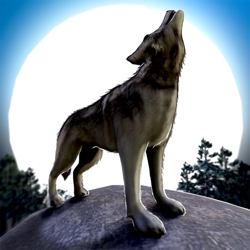 Wolf Escape 3D . аниме игра волк симулятор