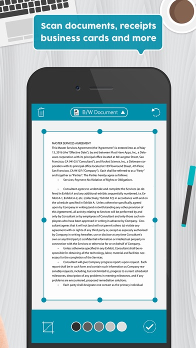 Easy Scanner Pro: PDF scanner app to scan document screenshot two