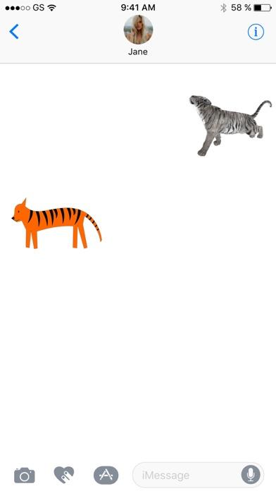 Tiger Zwei Sticker PackScreenshot von 3