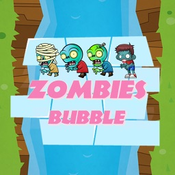 Zombies survival Bubble Trouble