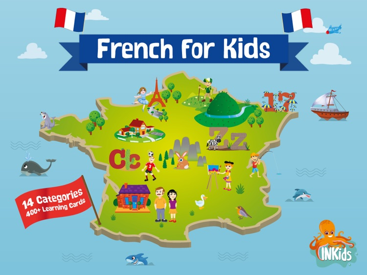 Learn French for Kids screenshot-0