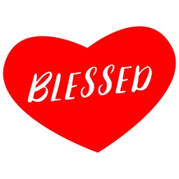 Blessed - Uplifting Bible Verse Stickers
