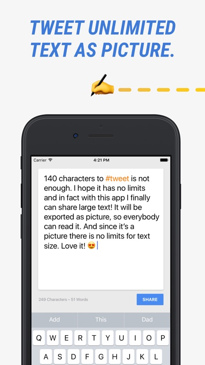 140 Not Enough: Text to Photo Generator