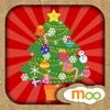 クリスマスゲーム - 子供のぬりえ , シールブック - iPadアプリ