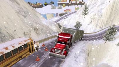 グランド雪のトラックのシミュレーター: 貨物トラック ドライバーの 3 Dのおすすめ画像4
