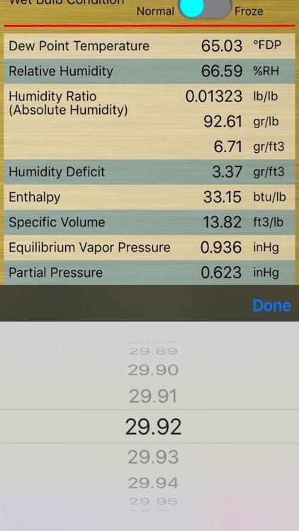 HumidCalc screenshot-3