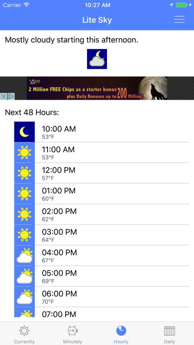 Lite Sky - Weather Fast screenshot three