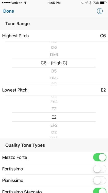 Quality Tones