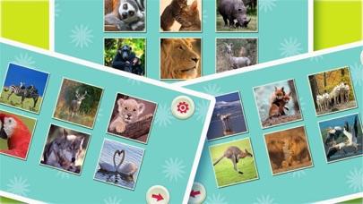 楽しい動物のジグソーパズル ScreenShot1
