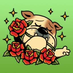 So So Cute Bulldog Stickers
