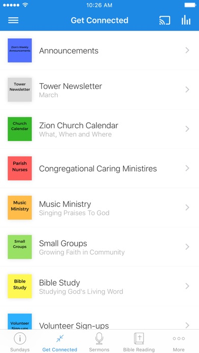 Zion Lutheran Church-Ann Arbor screenshot 2