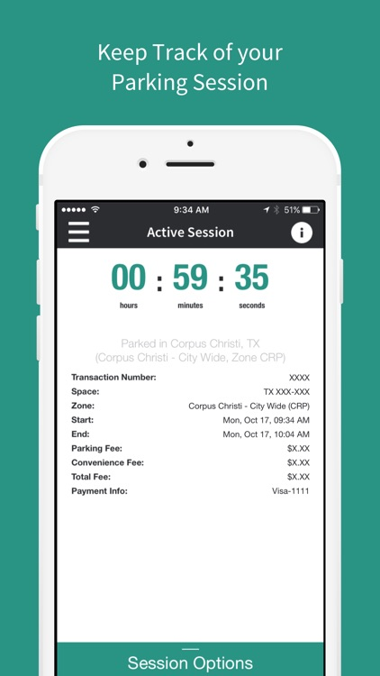 Park CC - Mobile Payments For Parking screenshot-3