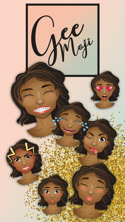 African Emoji Set GeeMoji