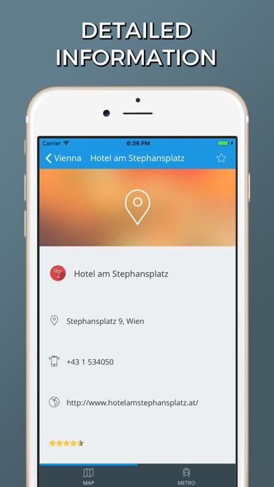 Vienna city maps screenshot two