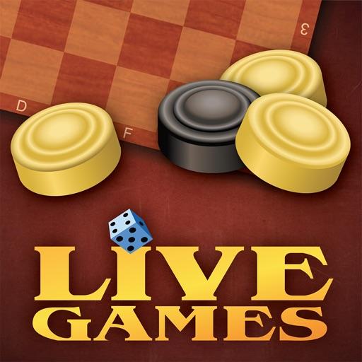 Шашки LiveGames