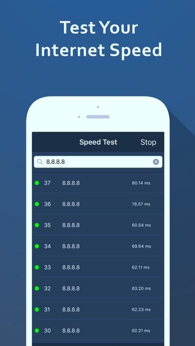 Screenshot #4 for Speed Test – Wifi Analyzer & Scan Network Tools