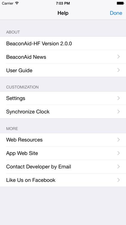 BeaconAid-HF screenshot-4