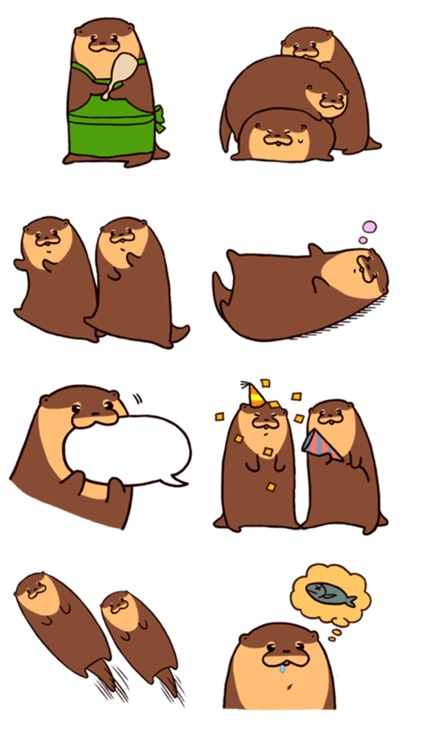 Mink Stickers