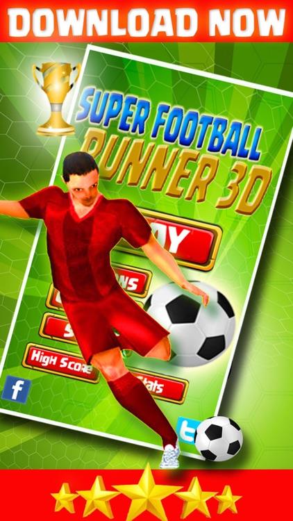 Football Star Pro Runner Shoot 3D screenshot-4