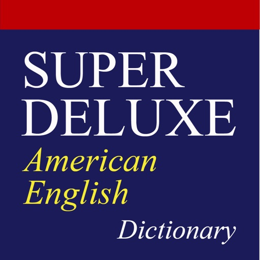Super Deluxe American English Dictionary