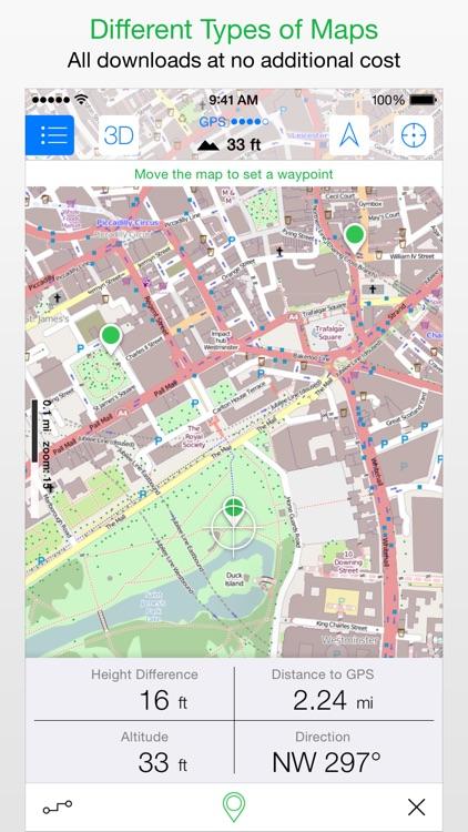 Maps 3D PRO - Outdoor GPS screenshot-4