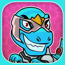 Amazing Comic SuperHero Dino T-Rex Creator