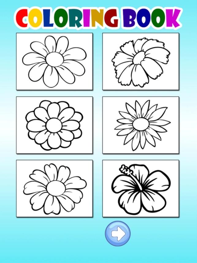 Bunga Kupu Kupu Untuk Buku Mewarnai Game Di App Store