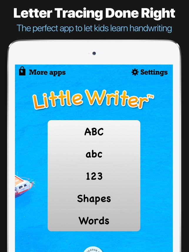 little writer the tracing app for kids on the app store
