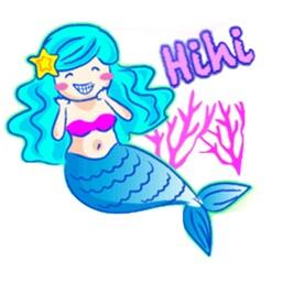 Lovely Mermaid Sticker