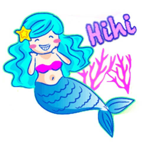 Lovely Mermaid Sticker