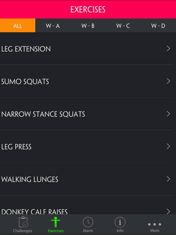 4 Day Muscle Building Workout Split screenshot