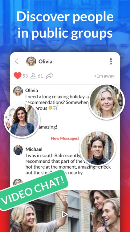Hitch - Group Video Chat, Meet Friends And People
