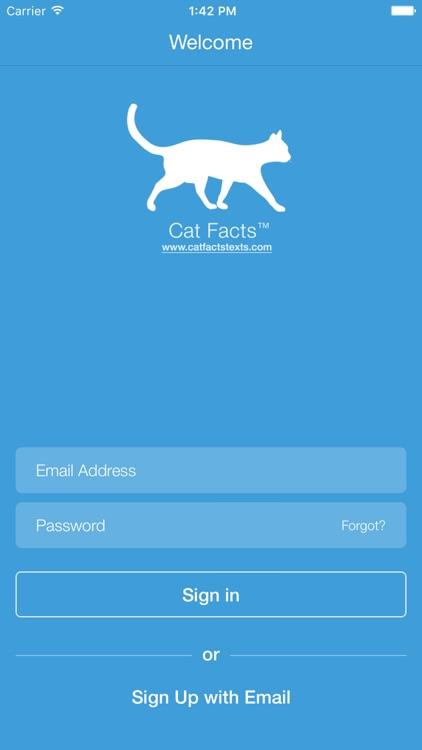 Cat Facts Texts screenshot-4