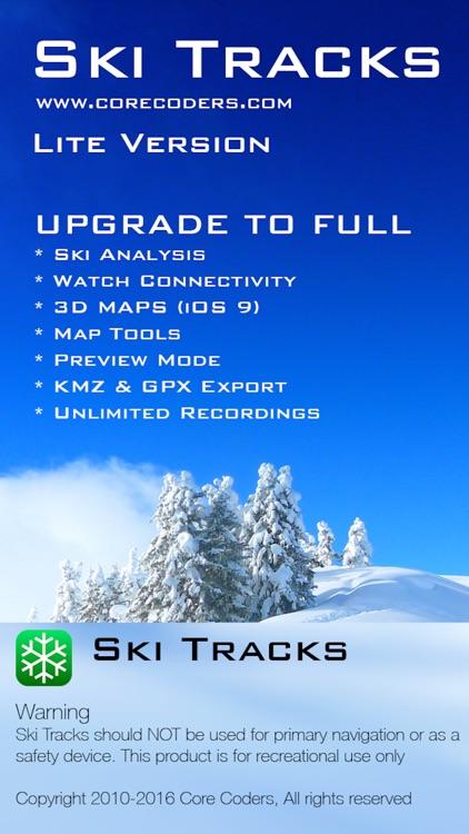 Ski Tracks Lite screenshot-4