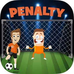 Penalty free kick shoot - penalties football