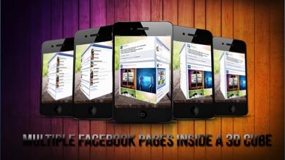 3d Facecube For Facebook review screenshots