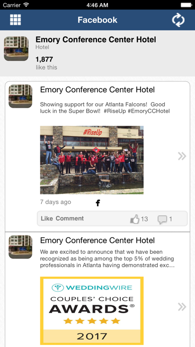 Emory Conference Center Hotel screenshot three