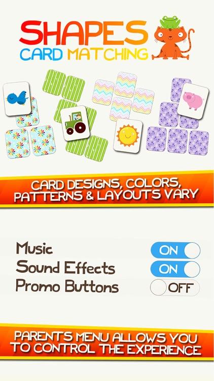 Shape Game Colors Free Preschool Games for Kids screenshot-3