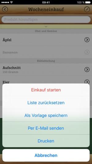 Einkaufsliste PX im App Store