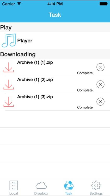 iToolZip Pro - Zip Unrar Unzip Tool & File Manager screenshot-3