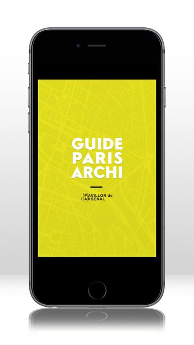 Screenshot #1 pour GUIDE PARIS ARCHI.
