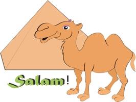 Happy Camel stickers by Mirakyan