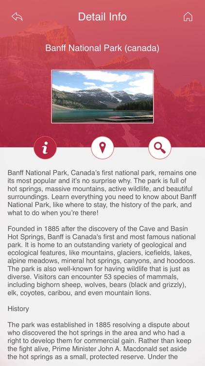 World's Best National Parks screenshot-3