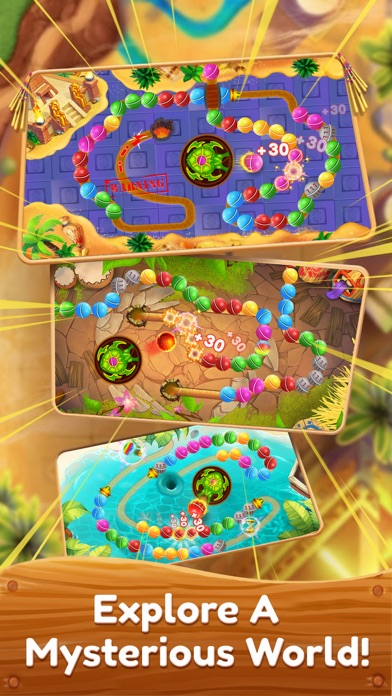 Marble Shooter Mania app image