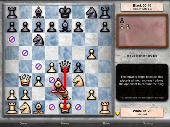 Screenshot #3 for Chess Pro - with coach