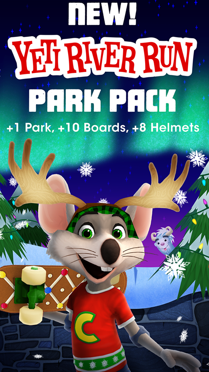 Chuck E. Cheese's Skate Universe Screenshot