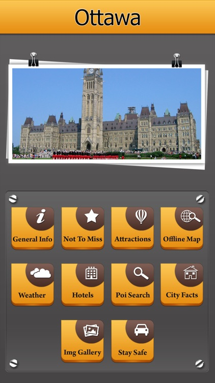 Ottawa Offline Map City Guide