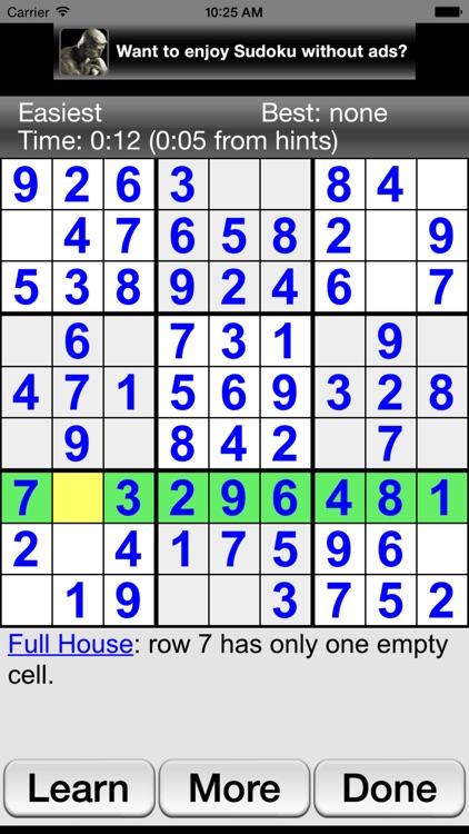 Sudoku Joy screenshot-4