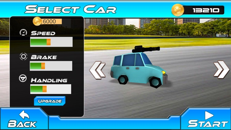 Fast Car Shooting Race - Cartoon Cars Asphalt Race screenshot-4